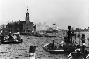 Hafen-Kehrwieder 60x90 Leinwand