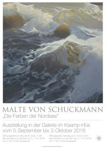 Die Farben der Nordsee - Malte von Schuckmann @ Galerie im Kaamp-Hüs in Kampen  | Kampen (Sylt) | Schleswig-Holstein | Deutschland