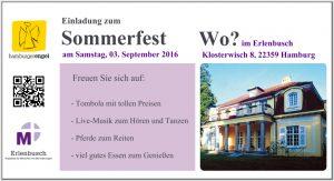 Das Sommerfest im Erlenbusch Volksdorf @ Martha Stiftung - Erlenbusch | Hamburg | Hamburg | Deutschland