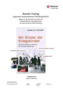 Wir Kinder der Kriegskinder - Benefiz Veranstaltung @ Ohlendorff'sche Villa | Hamburg | Hamburg | Deutschland