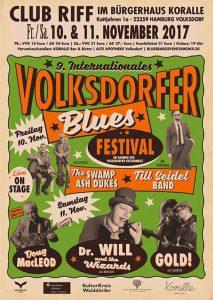 9. Internationales Volksdorfer Bluesfestival @ Bürgerhaus Koralle | Hamburg | Hamburg | Deutschland