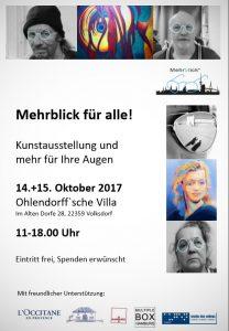 Mehrblick für alle! Kunstausstellung und mehr für Ihre Augen. @ Ohlendorffsche Villa | Hamburg | Hamburg | Deutschland