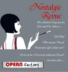 NostalgieRevue - Schlager aus den 20er- 40er Jahren @ Opern Factory Wandsbek | Hamburg | Hamburg | Deutschland