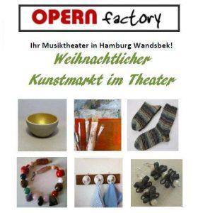 Weihnachtlicher Kunstmarkt in der Opern Factory Wandsbek @ Opern Factory Wandsbek | Hamburg | Hamburg | Deutschland