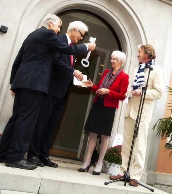 Eröffnung Ohlendorffsche Villa 2014