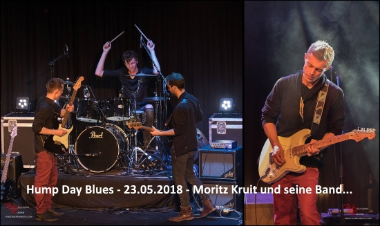 Moritz Kruit und seine Band Hump Day Blues
