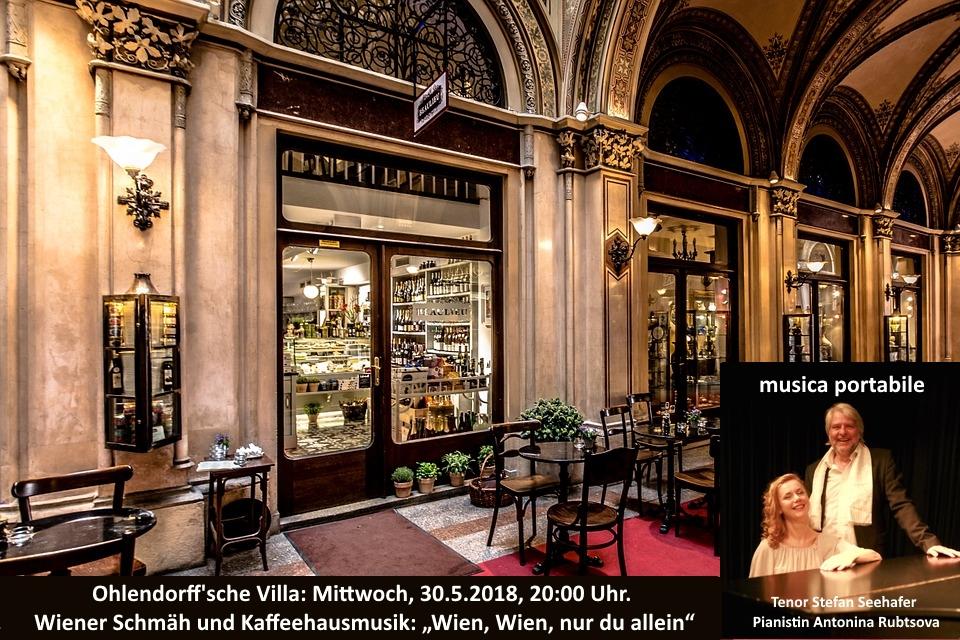 """musica portabile Wiener Schmäh und Kaffeehausmusik: """"Wien, Wien, nur du allein"""""""