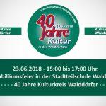 40 Jahre Kulturkreis Walddörfer Jubiläumsfeier