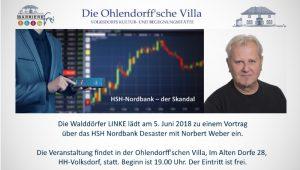 HSH-Nordbank – der Skandal. @ Ohlendorffsche Villa | Hamburg | Hamburg | Deutschland