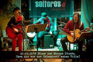 Soltoros – Blues zur Blauen Stunde – Open Air vor der Villa! @ Ohlendorffsche Villa