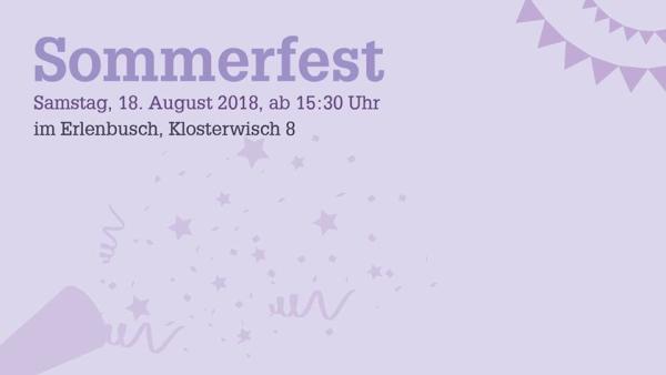 Sommerfest im Erlenbusch