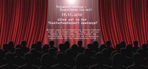 Volksdorf offline: Alles gut in der Theaterlandschaft Hamburgs? @ Ohlendorffsche Villa