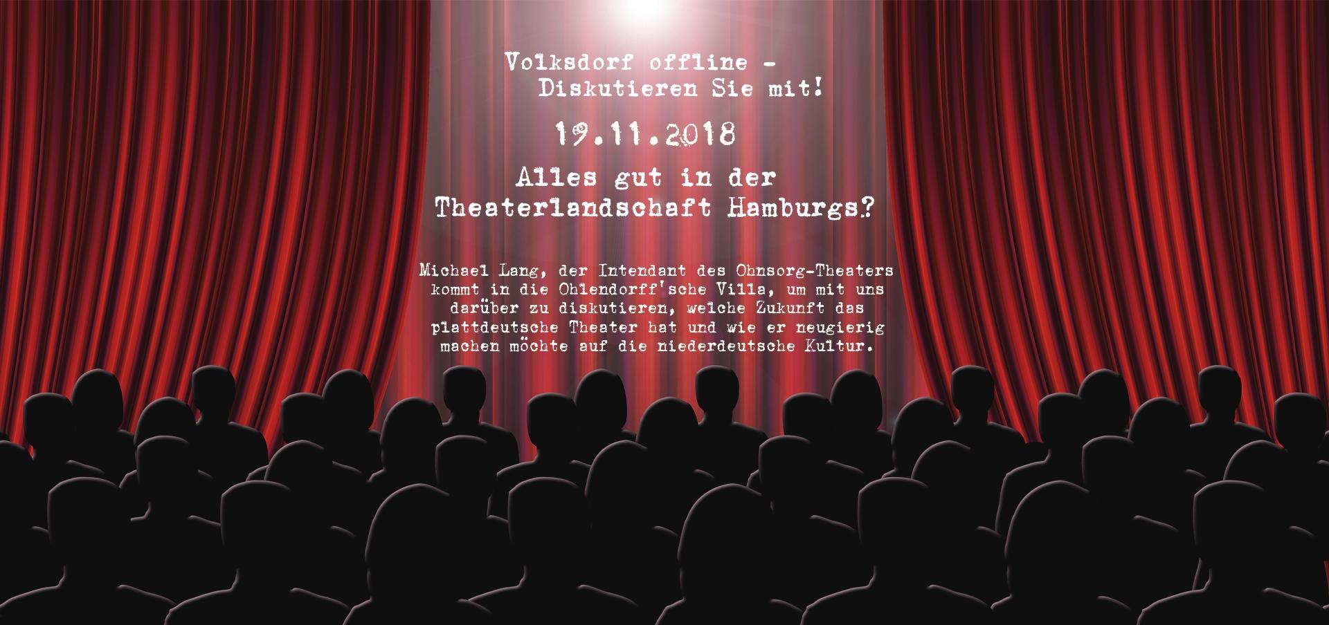 Alles gut in der Theaterlandschaft Hamburgs