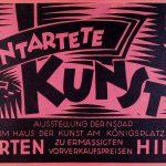 """Lichtbildvortrag: """"Entartete Kunst"""" in Hamburg - Bildende Kunst im Nationalsozialismus"""