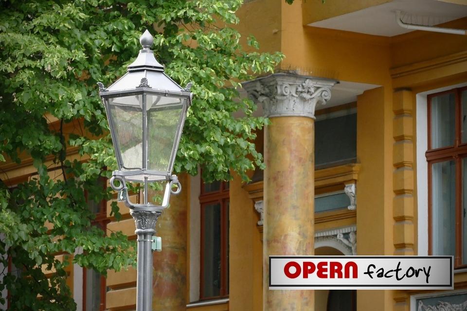 Opern Factory - Gaslicht - Krimi von P. Hamilton