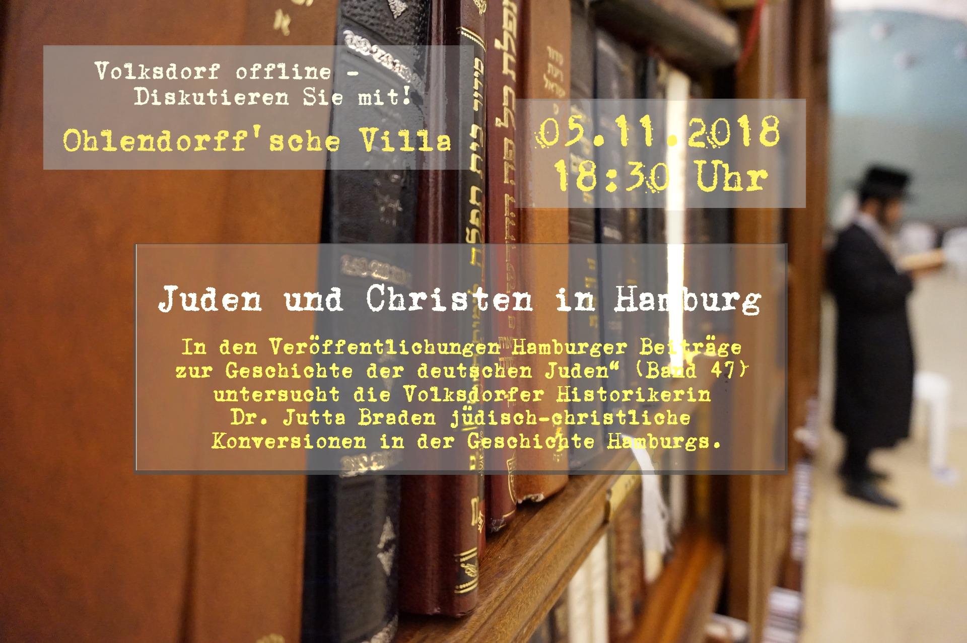 Volksdorf offline - Juden und Christen in Hamburg