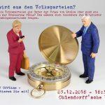 Volksdorf offline - Was wird aus den Volksparteien?
