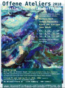 Offene Ateliers 2018 im Künstlerhaus Ohlendorffturm @ Künstlerhaus Ohlendorffturm