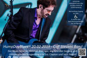 HumpDayBlues - Cliff Stevens Band @ Ohlendorffsche Villa