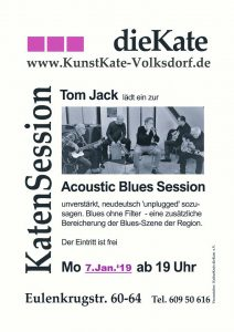 Acoustic Blues Session in der KunstKate Volksdorf @ Kunstkate Volksdorf