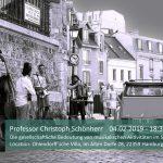 Professor Christoph Schönherr Die gesellschaftliche Bedeutung von musikalischen Aktivitäten im Stadtteil