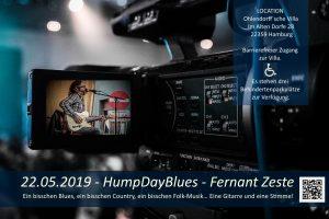 HumpDayBlues – Fernant Zeste aus Belgien. @ Ohlendorffsche Villa