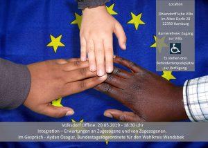 Integration – Erwartungen an Zugezogene und von Zugezogenen @ Ohlendorffsche Villa