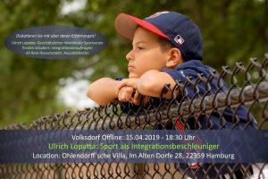 Volksdorf Offline: Sport als Integrationsbeschleuniger @ Ohlendorffsche Villa
