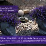 Kunst, Natur, Baumarkt -Tendenzen in der zeitgenössischen Gartengestaltung.