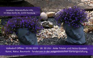 Volksdorf Offline: Kunst, Natur, Baumarkt - Tendenzen in der zeitgenössischen Gartengestaltung @ Ohlendorffsche Villa